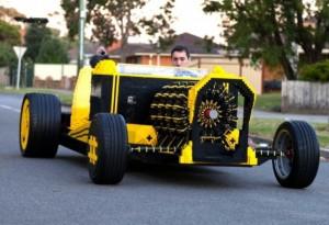 auto de lego e aria comprimida